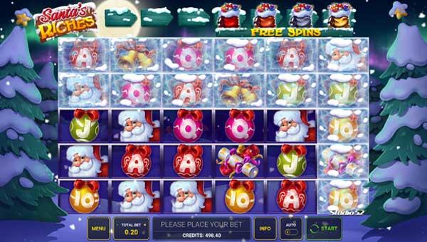 Santas Riches videoslot