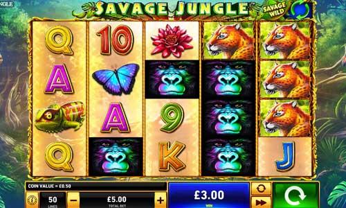 Savage Jungle videoslot