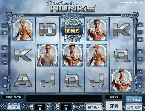 Scandinavian Hunks casino slot