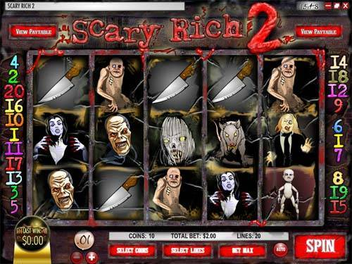 Scary Rich 2 videoslot