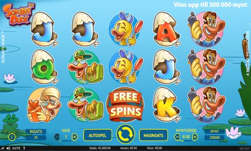 Scruffy Duck free slot