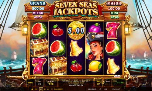 Seven Seas Jackpot videoslot