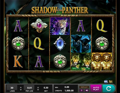 Shadow of the Panter slot