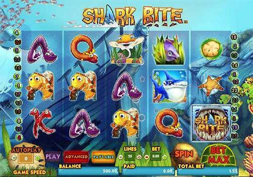 Shark Bite free slot
