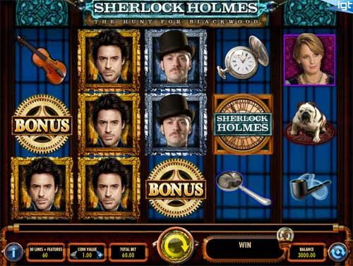 Sherlock Holmes videoslot