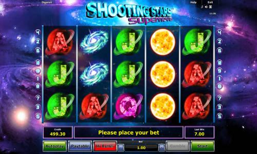Shooting Stars Supernova slot