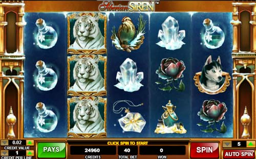 Siberian Siren free slot