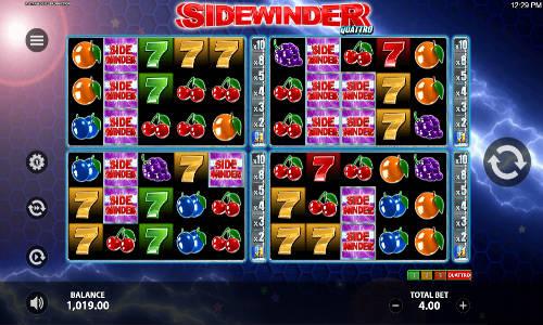 Sidewinder Quattro videoslot