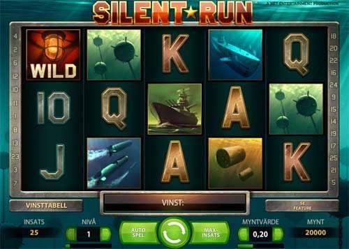Silent Run videoslot