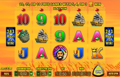 Silk Road free slot
