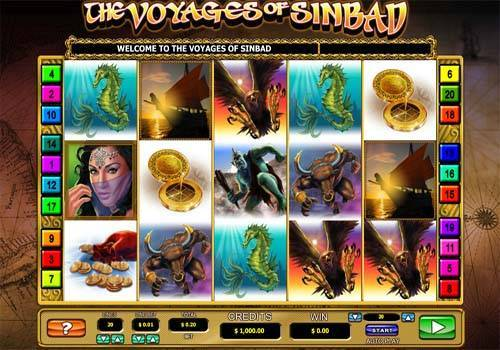 The Voyages of Sinbad videoslot