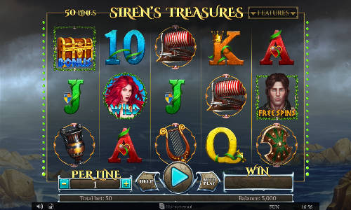 Sirens Treasures videoslot