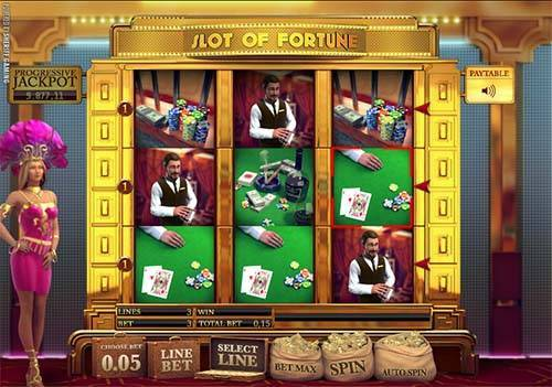 Slot of Fortune videoslot