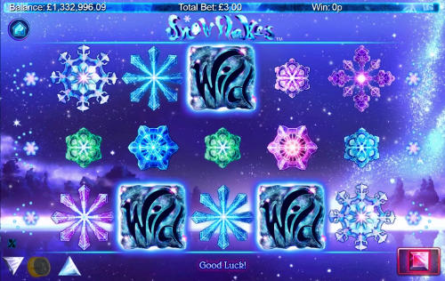 Snowflakes videoslot