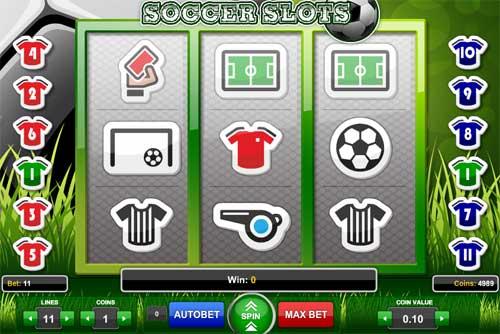 Soccer Slots videoslot