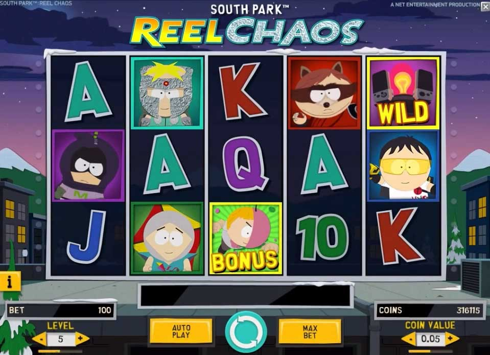 South Park Reel Chaos videoslot