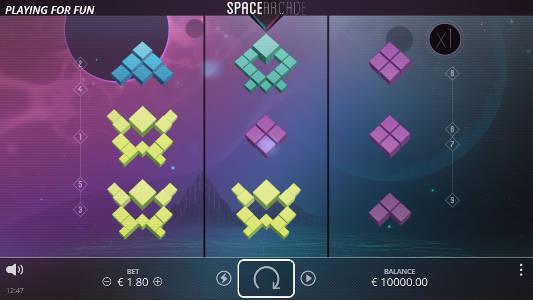 Space Arcade videoslot