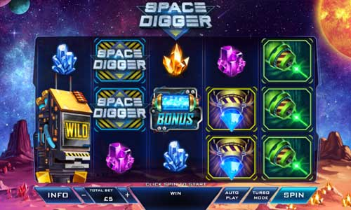 Space Digger videoslot