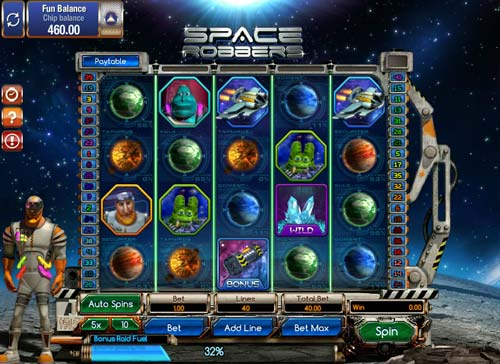 Space Robbers slot