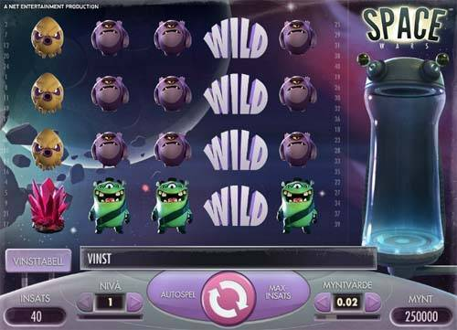 Space Wars free slot