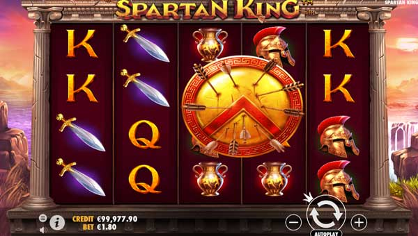 Spartan King videoslot
