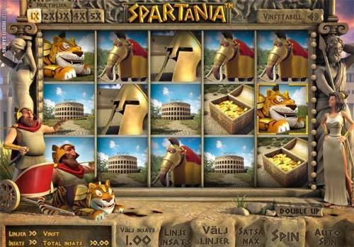 Spartania videoslot