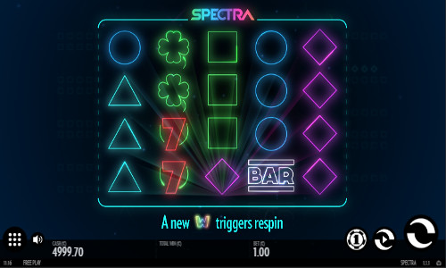 Spectra videoslot