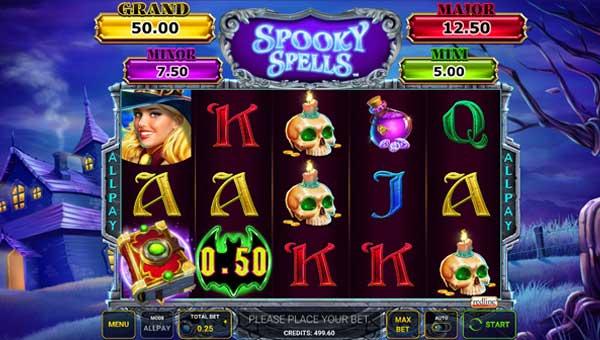 Spooky Spells videoslot