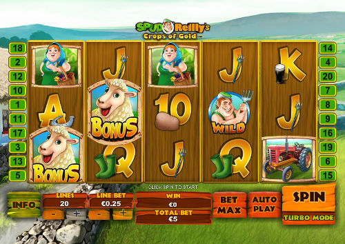 Spud OReillys Crops of Gold slot