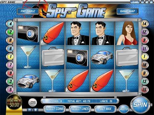 Spy Game videoslot