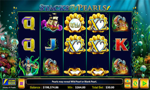 Stacks of Pearls videoslot
