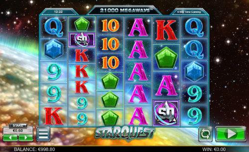 Star Quest videoslot