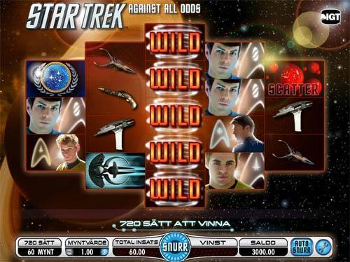 Star Trek Against All Odds videoslot