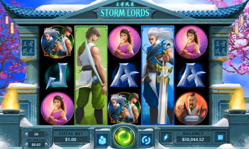 Storm Lords videoslot
