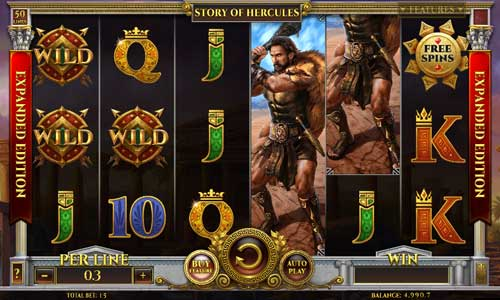 Story of Hercules Expanded Edition videoslot