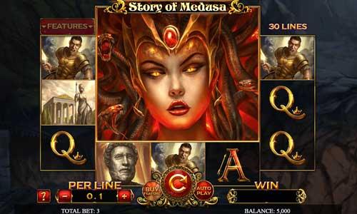 Story of Medusa videoslot