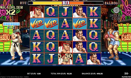 spela Street Fighter 2 The World Warrior slot