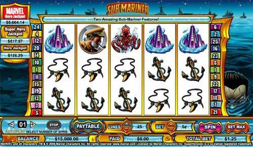Submariner free slot