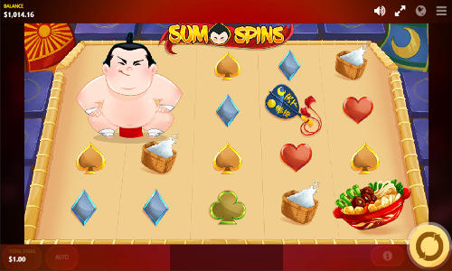 Sumo Spins free slot