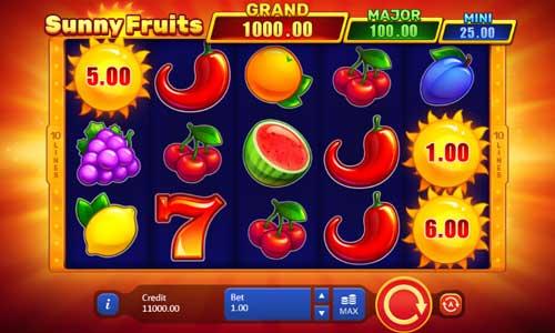 Sunny Fruits videoslot