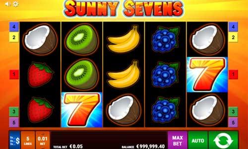 Sunny Sevens videoslot
