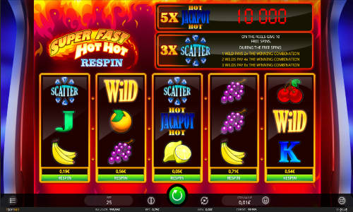 Super Fast Hot Hot Respin free slot