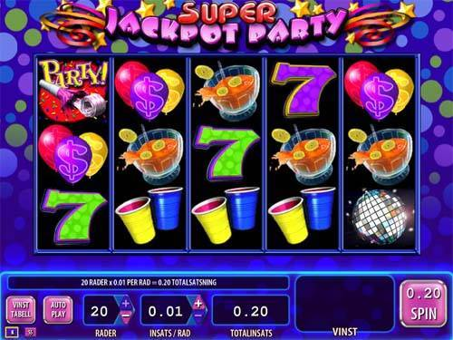 Super Jackpot Party videoslot