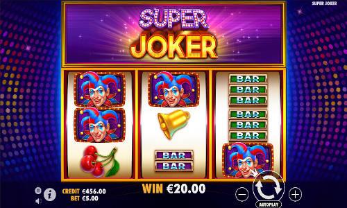 Super Joker videoslot