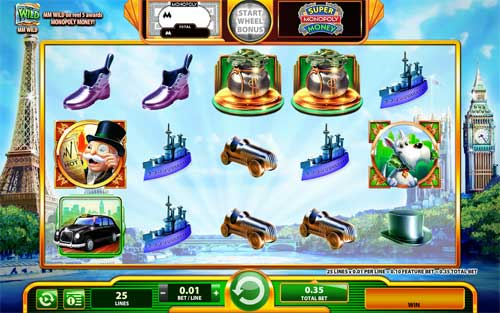 Super Monopoly Money slot