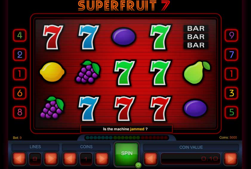 Superfruit 7 free slot