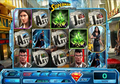 Superman Last Son of Krypton free slot