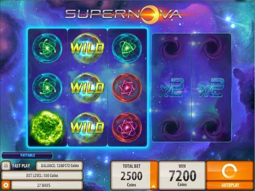 Supernova casino slot