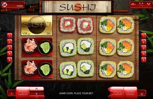 Sushi slot