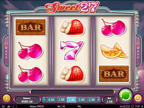 Sweet 27 videoslot